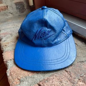 Max USA Vintage Leather Ball cap